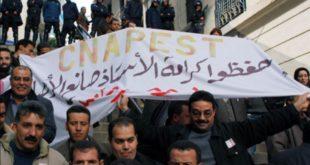 اضراب نقابة الكناباست