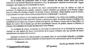بكالوريا 2015 – اختبار اللغة الإسبانية شعبة لغات أجنبية