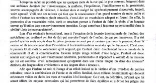 بكالوريا 2015 – اختبار اللغة الفرنسية الشعب العلمية