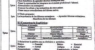 تصحيح بكالوريا 2015 – اختبار اللغة الإسبانية شعبة لغات أجنبية