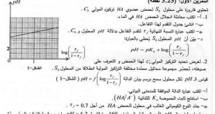 بكالوريا 2016 – اختبار الفيزياء شعب رياضيات + تقني رياضي