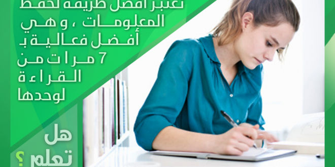 الكتابة أثناء المذاكرة