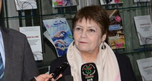 وزيرة التربية في زيارتها لمقر ديوان المطبوعات المدرسية